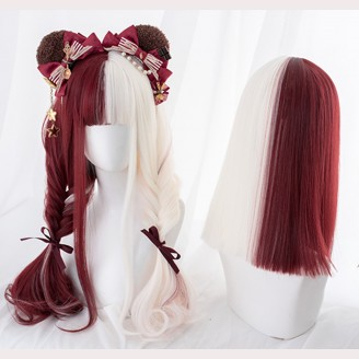 Absurd Paradise Curly Or Straight Lolita Wig by Alice Garden (AG22)